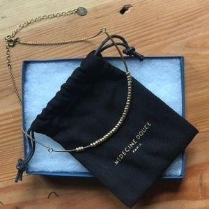 Medecine Douce Gold Plated Round Pataya Necklace